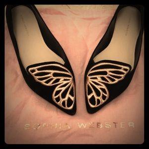 GORGEOUS Sophia Webster Bibi Butterfly Flats 😍😍